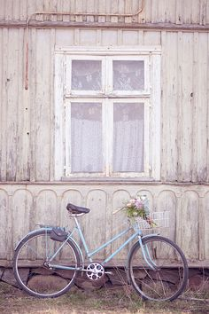 Bike with flowers  #bicycle #bicycles #bikes