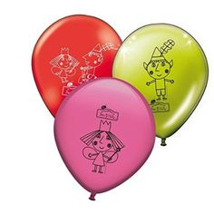 Ben and Holly Latex Balloons 10 Pack: Amazon.co.uk: Toys & Games - £4.60