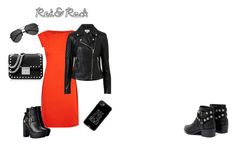 """red&rock"" by s-mihlik on Polyvore featuring мода, Boutique Moschino, Witchery, MICHAEL Michael Kors, Casetify, Yves Saint Laurent и Senso"