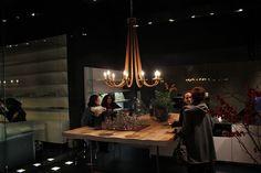 boffi Kitchens | big wood table