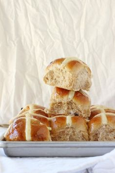 Easy Easter Hot Cross Buns Recipe   Foodness Gracious