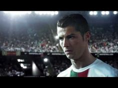 """Epic Nike spot. """"Write the future"""". I almost forgot how hot football players are. Makes me miss living in Europe! ;)"""