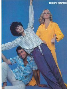 John Ritter, Joyce DeWitt, & Suzanne Somers ~ Three's Company