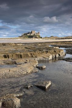✮ Bamburgh, Northumberland, England - Bamburgh Castle In The Distance