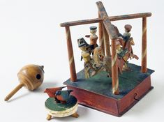 Top (Humming top)      Category:      Toys and Games     Place of Origin:      United States, North America     Date:      1800-1860     Mat...