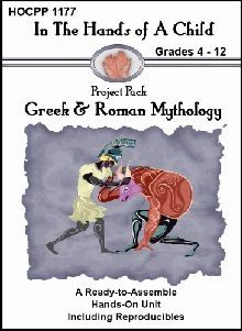 Greek Mythology lapbook - just bought this...looks pretty good!
