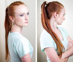 Torvi from Vikings is making waves in the styling world with her awesome braided…