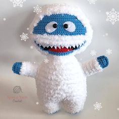 Bumble the Abominable Snowman Crochet Pattern
