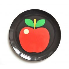 Apple Ingela P Arrhenius Plate | Kid's Gift Ideas | Cult Furniture