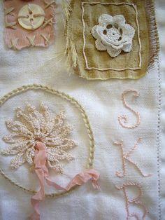 stitching sampler by skblanks