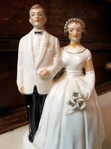 enesco Vintage Bride and Groom Cake Toppers - Yahoo Image Search Results