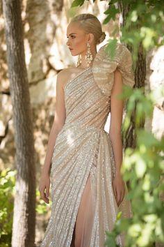 Elie Saab Couture, Haute Couture Dresses, Couture Fashion, Look Fashion, Fashion Show, Fashion Outfits, Robes Elie Saab, Elie Saab Fall, Gala Dresses