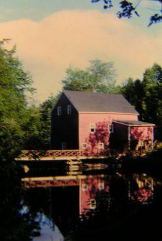 Flour Mill. near Tatmaguoche, NS, aug 1973