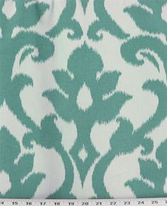 Azzuro Teal | Online Discount Drapery Fabrics and Upholstery Fabric Superstore!