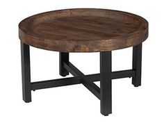 Shop for Classic Home Toluca Round Coffee Table, 522370, and other Living Room Tables at Kittle's Furniture in Indiana and Ohio.
