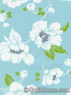 dolce tw30- blue fabric by Tanya WHelan