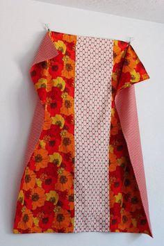 Clementine Stroller Blanket by moxiemandie on Etsy, $52.00