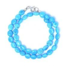 Sleeping Beauty Turquoise & Sterling Silver Bracelet www.jewelya.com