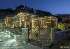 Sunrise Sea Villa: Luxury Villa for rent at Chorefto, Pelion Luxury Villa, Sunrise, Sea, Mansions, Architecture, House Styles, Home, Decor, Luxury Condo