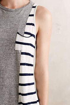 Paneled Stripe Tank - anthropologie.com #anthropologie #AnthroFave