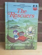 The Rescuers Walt Disney Wonderful World of Reading HB Children's book 1977