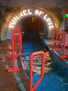 Tunnel of Love boat ride - I remember they had this ride at Coney Island, Cincinnati Abandoned Theme Parks, Abandoned Amusement Parks, Abandoned Buildings, Abandoned Places, Abandoned Mansions, Tunnel Of Love, Amusement Park Rides, Carnival Rides, Love Boat