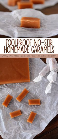Foolproof No-Stir Homemade Caramels {With Step-by-Step Tutorial}