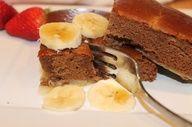 Paleo Chocolate Banana Baked Pancake @Kate F. Phillips Harmony