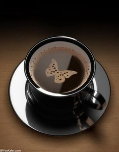 butterfly in your coffee???   (via bettybroccoli)