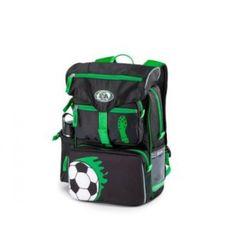 Flot fodbold skoletaske fra Jeva Beginners - 313-08