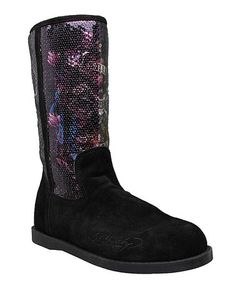 Take a look at this Black Iceland Boot by Blow-Out on #zulily today!