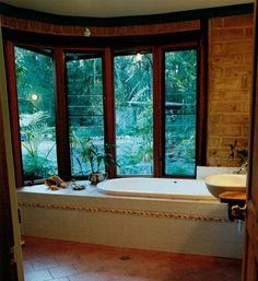 Mudbrick Bathroom
