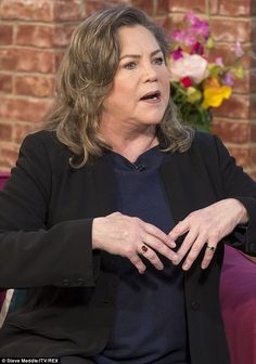 Tough time: Kathleen Turner reveals she had 12 operations, one a year, to overcome her rheumatoid arthritis