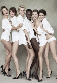 Patrick Demarchelier for Pirelli's 50th anniversary shoot.