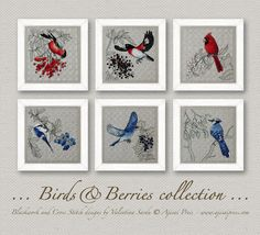 birds and berries collection ajisai press