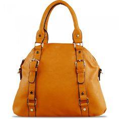 Susan Nichole Vegan Handbag Blossom in Mustard