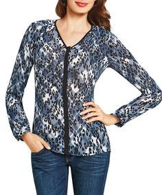 Look at this Blue Fatale Top on #zulily today!