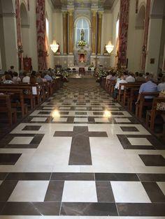 Interior de la Iglesia de Santa Magdalena de Pulpis. #GrisPulpis