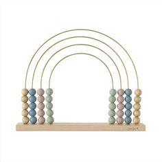 Oyoy Abacus Telraam Speelgoed Rainbow Messing - 33 x cm