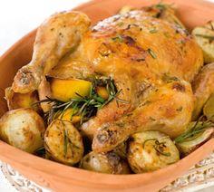Kip met citroen en rozemarijn - Recept - Jumbo Supermarkten