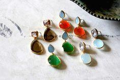 Pendientes T Crista esperandote en www.casildafinatmc.com #earings #pendientes #joyitas #piedrasnaturales #naturalstones #jewelry #jewels #jewellery #invitadaperfecta