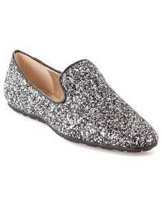 fff687ca1c9 Jimmy Choo  Wheel  Glitter Loafer I love these shoes. Exquisite Clothes
