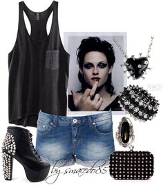 """""""rock girl"""" by smacedo85 on Polyvore"""