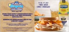 Enter the #Strangewich #Sweepstakes and win a VIP NASCAR meet 'n greet with Dale Earnhardt Jr. #ad