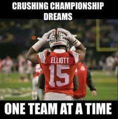 """Ezekiel """" Zeke """" Elliott #15 Ohio State Football"""