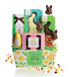 Fannie May Easter Chocolate Gift Basket Review &Giveaway - http://makingtimeformommy.com/2012/04/03/fannie-may-easter-chocolate-gift-basket-review-giveaway/