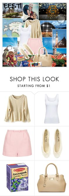 """""""""""I hope one day when I say I'm from Estonia, people don't say: 'What? Where's that?' """" - Carmen Kass"""" by getterkagu ❤ liked on Polyvore featuring beauty, jared, Boody, Topshop, DKNY and country"""