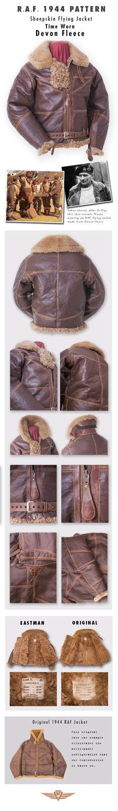 Eastman Leather Clothing - British Flight Jackets : Raf1944