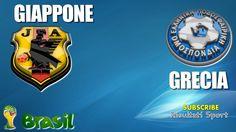 GIAPPONE - GRECIA - Mondiali 2014 - 20-6-2014 - Diretta live in streaming