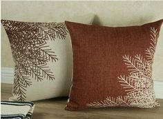 Simple cotton pillow sofa cushion pillow office Home by flywing99, $15.00